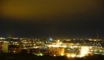 Ночь  над центром Смоленска