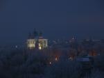 Вечер в зимней глазури
