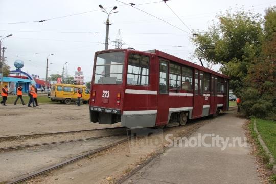 Заднепровье трамвай начнет