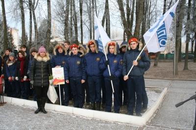 Смоленская академия профессионального образования приняла участие  в акции, приуроченной ко Дню неизвестного солдата