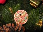 лимончики превращаются.... в новогоднее украшение!