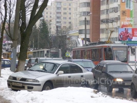 Движение трамваев уже