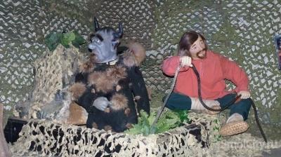 В музей «Смоленский лен» привезли движущиеся ростовые фигуры