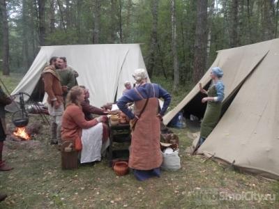 На западе Смоленска поселились варяги и древнерусские воины (ФОТО+ВИДЕО)