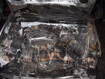 В Смоленской области сгорели два автомобиля