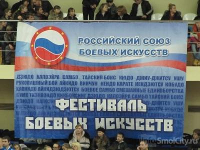 В Смоленске состоялся Третий фестиваль боевых искусств и спортивных единоборств