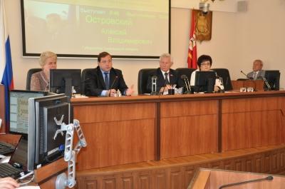 Губернатор Смоленской области отчитался о работе за год