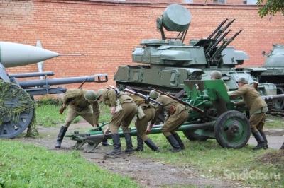 В День города в Смоленском музее взрывали фугасы  (ФОТО+ВИДЕО)