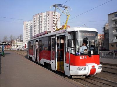 подарили новый трамвай