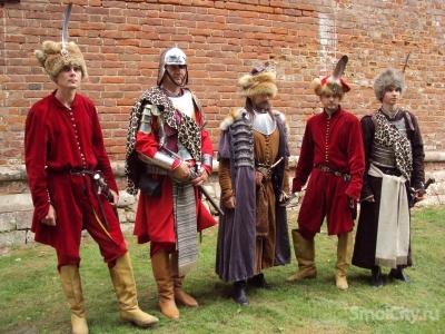 Польские гусары побывали в смоленске