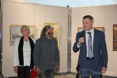 Московский художник поделился со смолянами своими впечатлениями