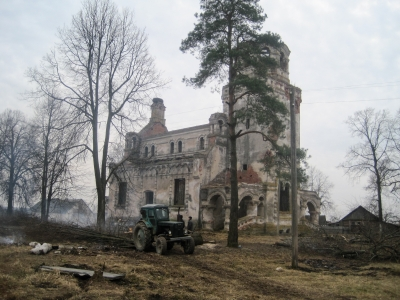 В Хиславичском районе восстановят храм (фото)